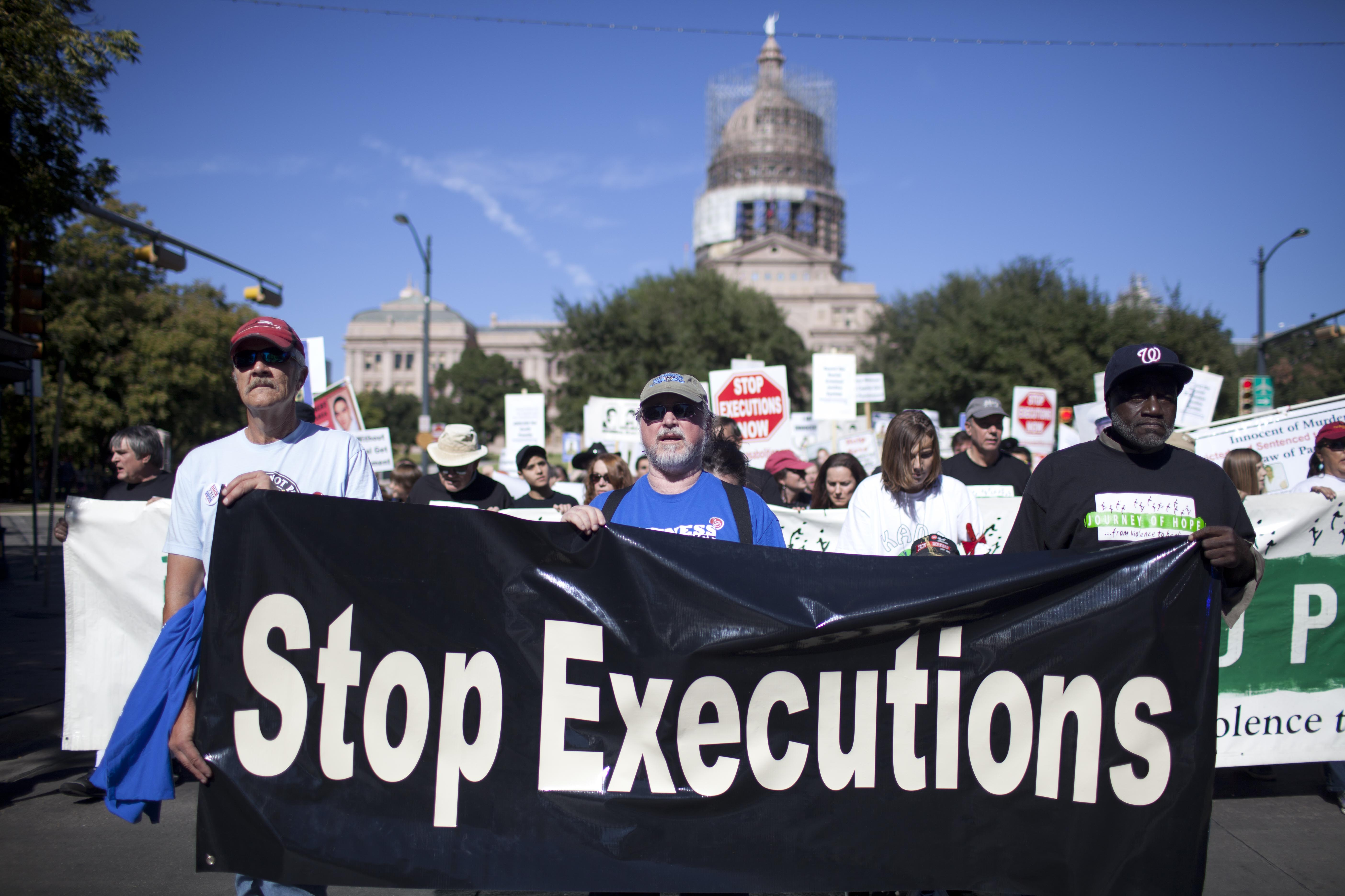 Anti-Death Penalty March